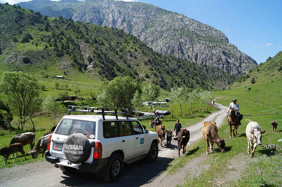 Day 3: Dushanbe - Norak - Kalai Khum